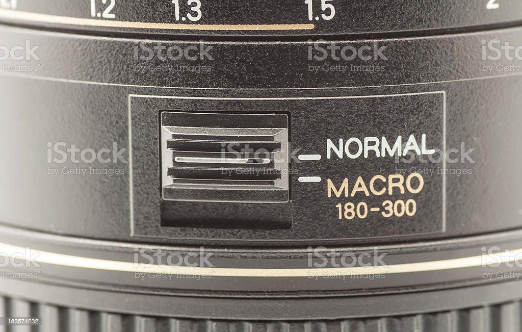 Photographic objective royalty-free stock photo