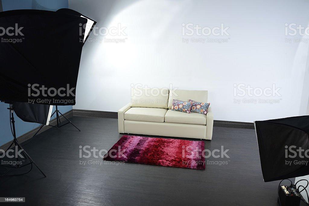 Photographic studio. stock photo