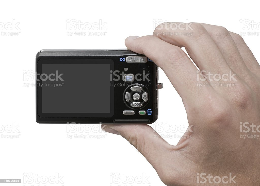 Photographing royalty-free stock photo