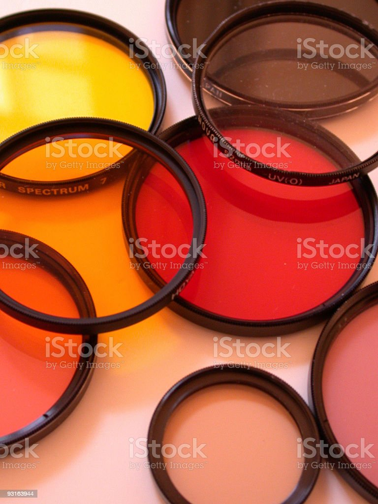 photography filters royalty-free stock photo