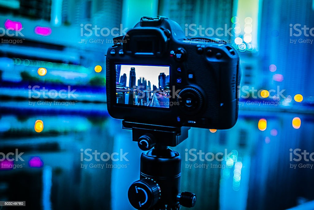 Photography is an Art stock photo
