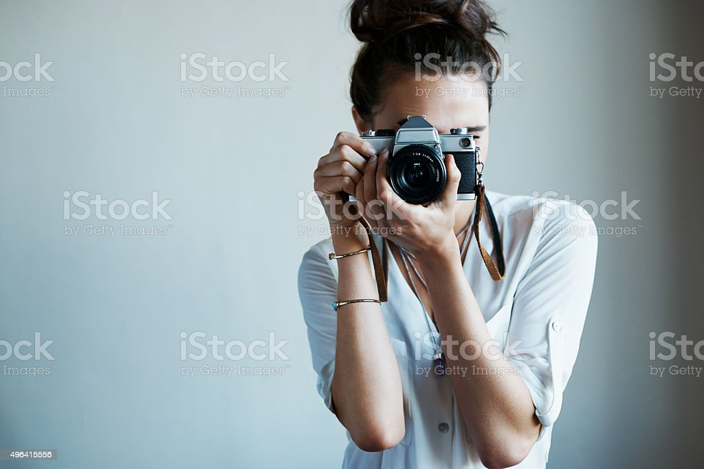 Photography- the beauty of life captured stock photo