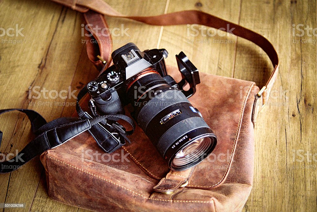 35MM Photograpy Equipment stock photo
