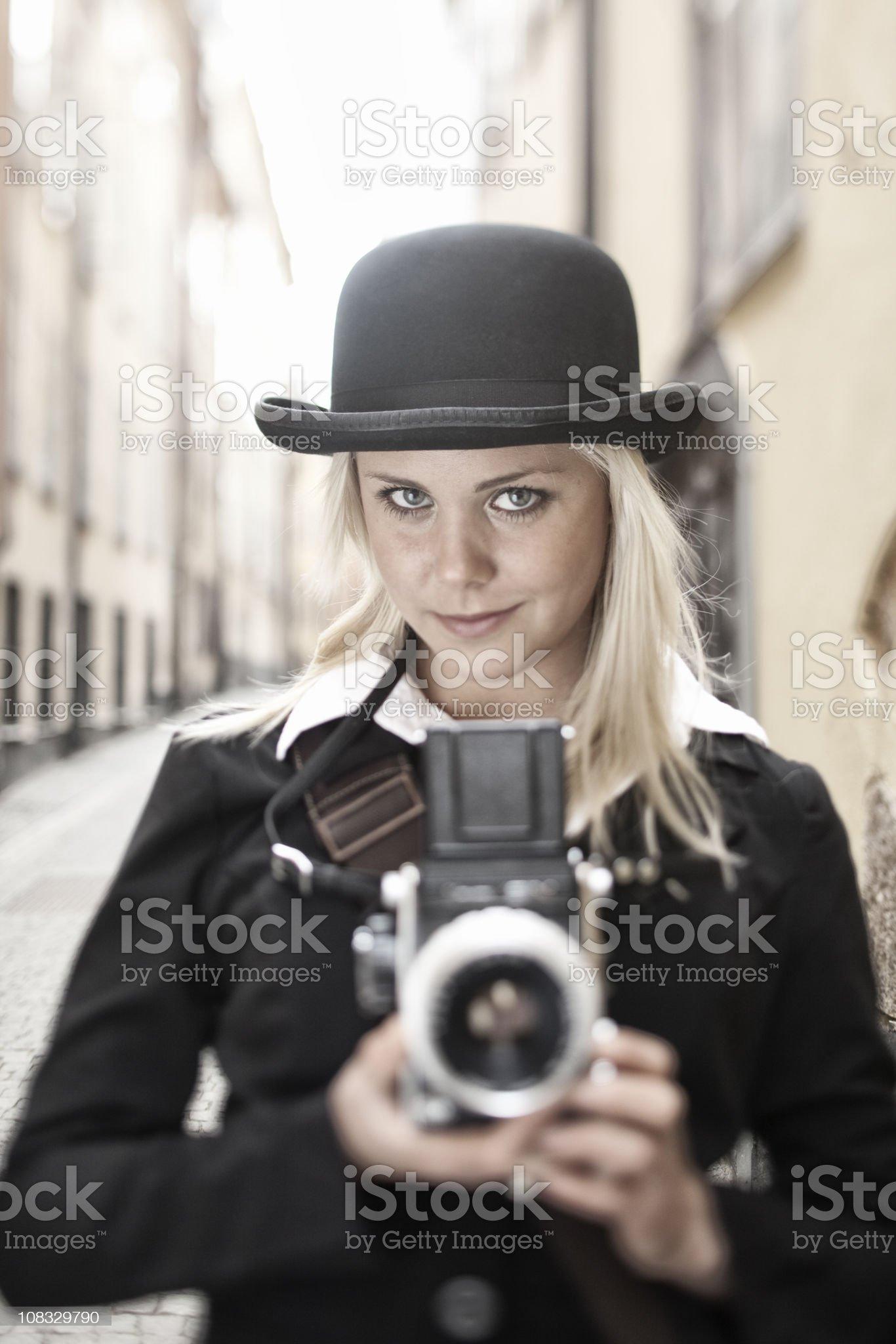 Photojournalist royalty-free stock photo