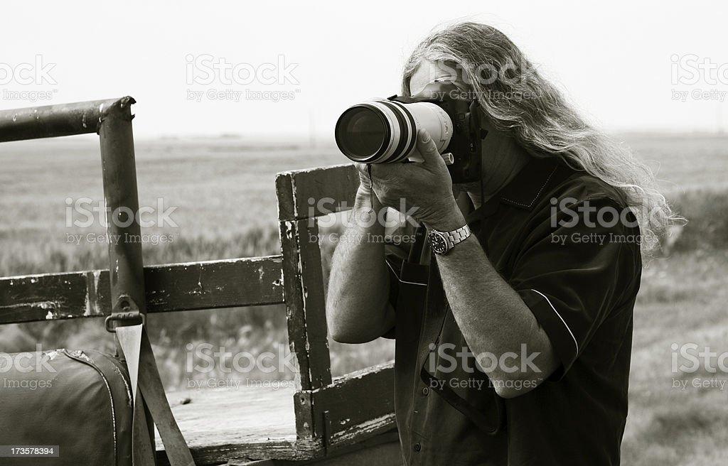 photojournalist stock photo