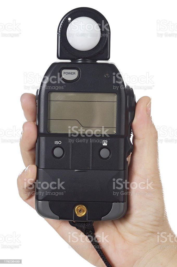 photometer royalty-free stock photo