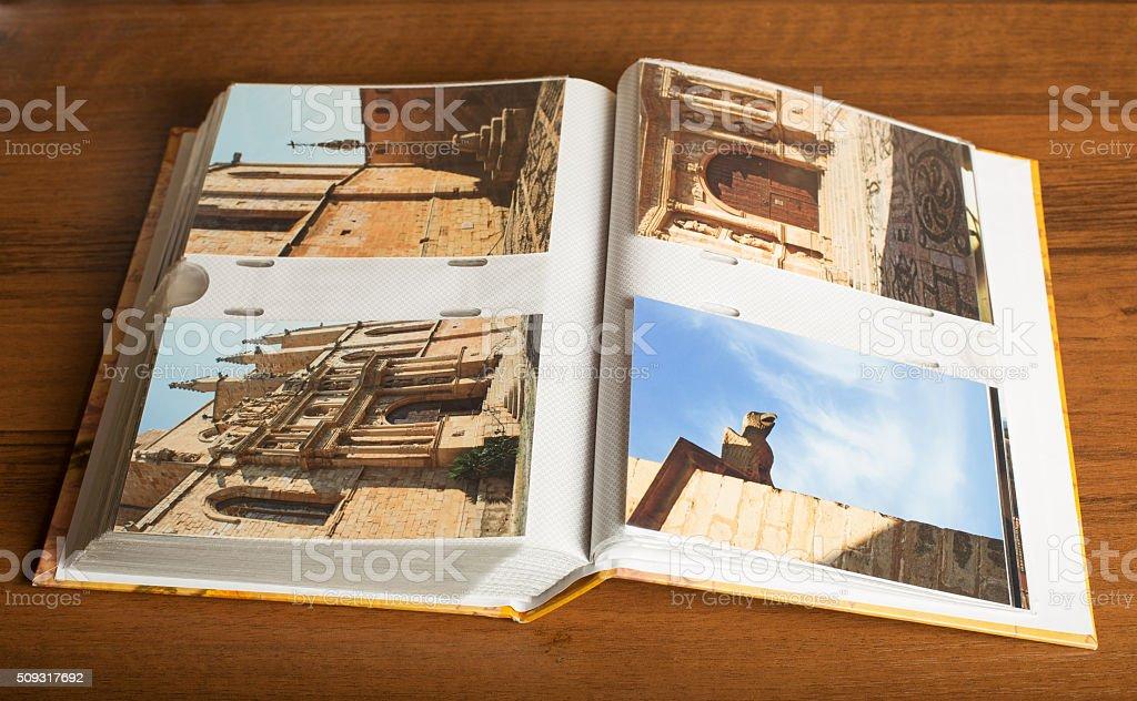 4 photos of Montblanc town, Catalonia, Spain stock photo