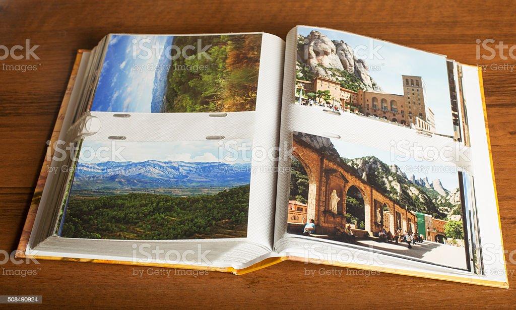 4 photos of Montserrat in Catalonia, Spain stock photo