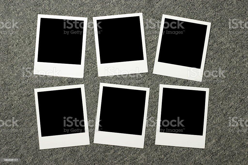 Photos on Carpet stock photo