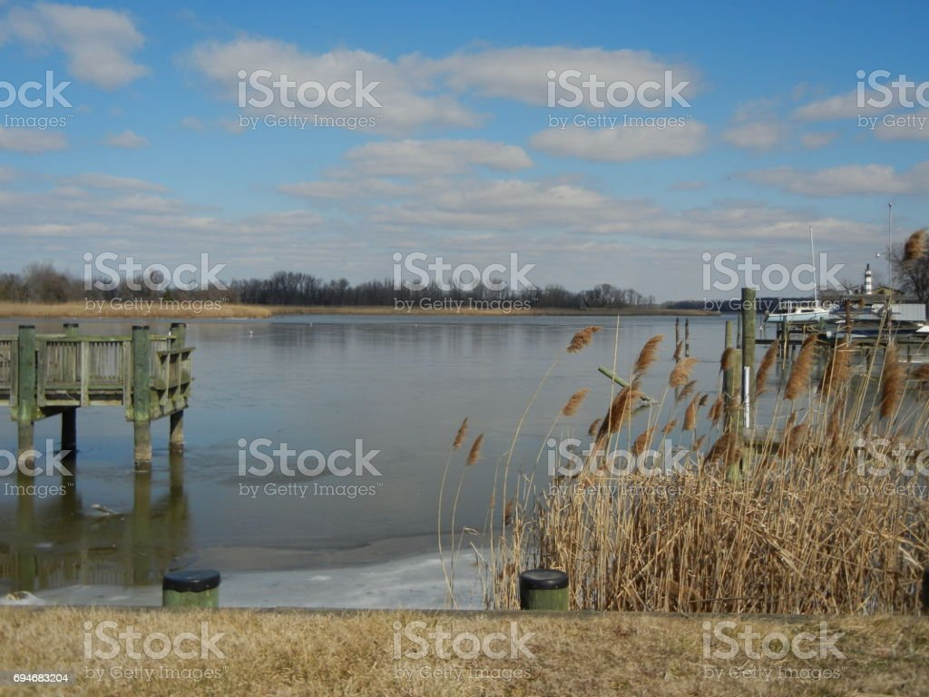 Photos taken by Melinda Hughes just outside of Baltimore in the Edgemere, Maryland area. stock photo