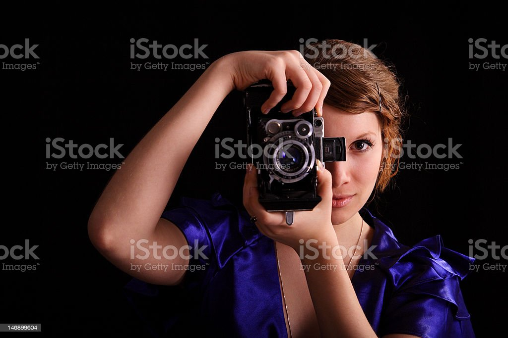 photosession royalty-free stock photo