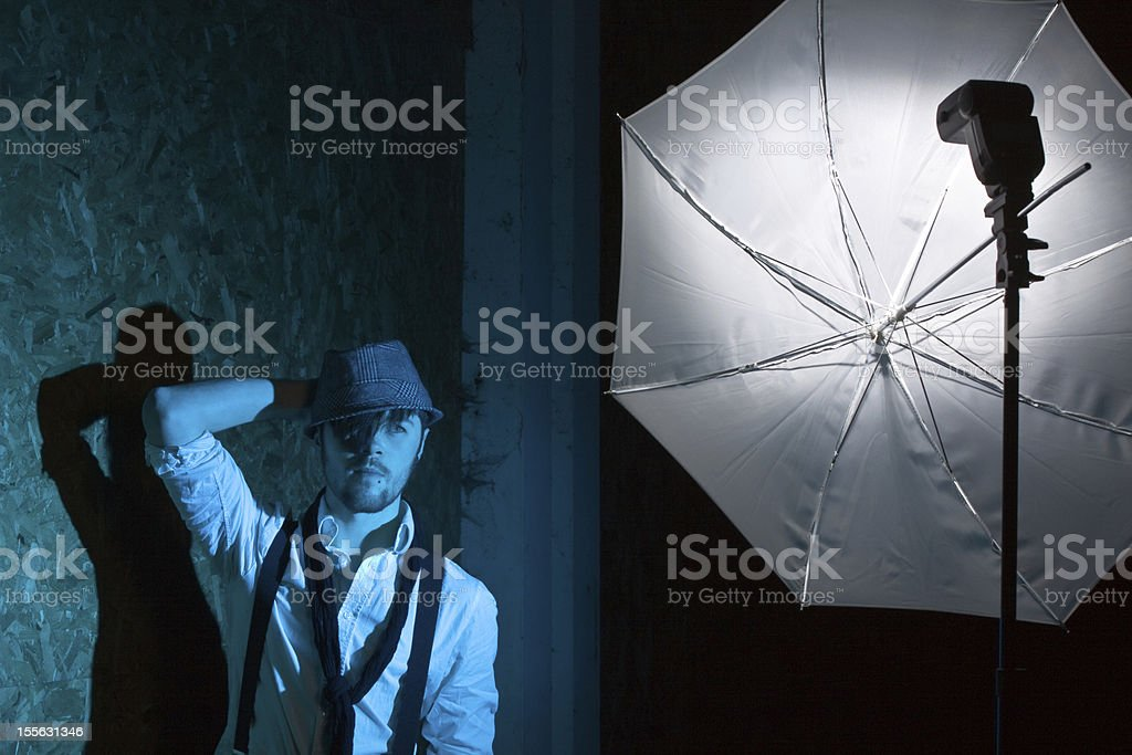 Photoshoot Behind the Scenes royalty-free stock photo