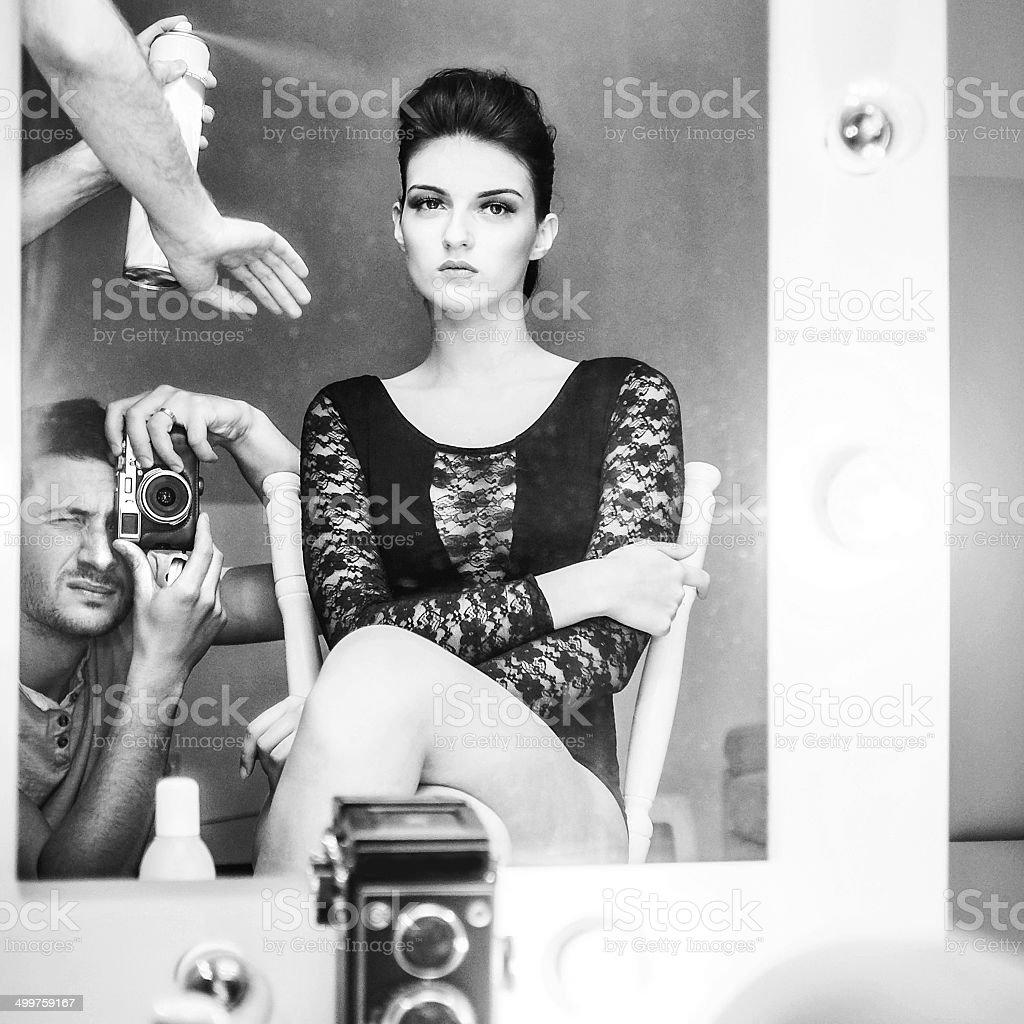 Photoshoot stock photo