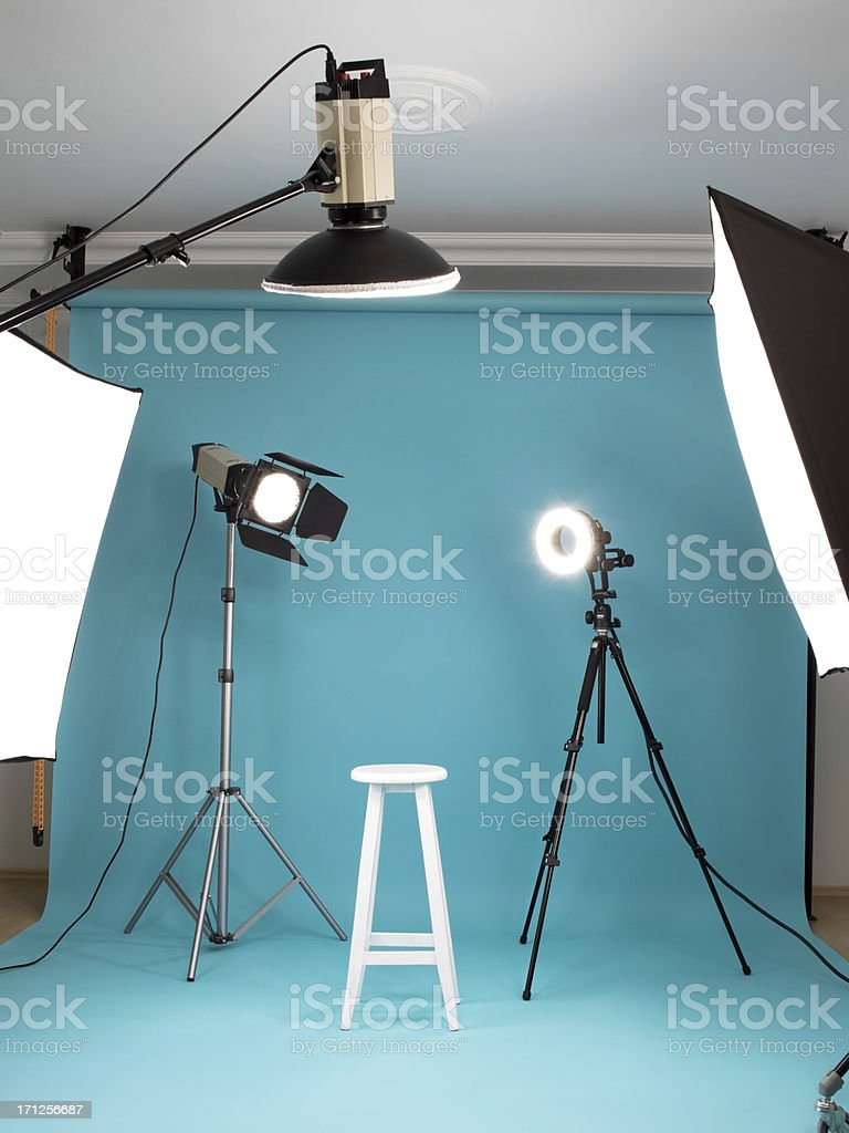 Photostudio stock photo