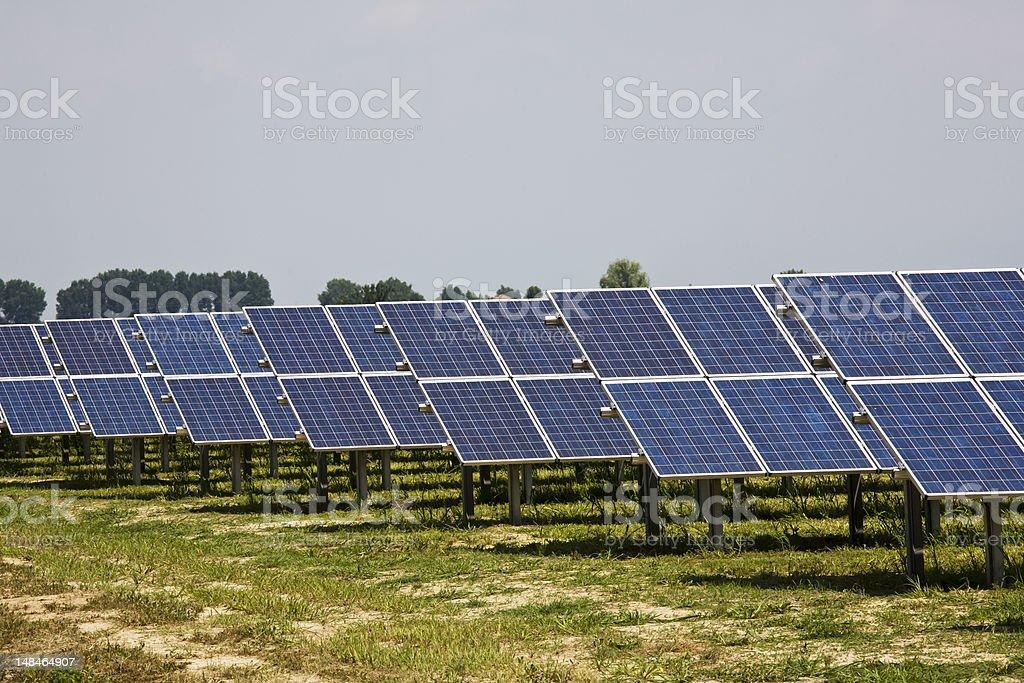 photovoltaic panels royalty-free stock photo