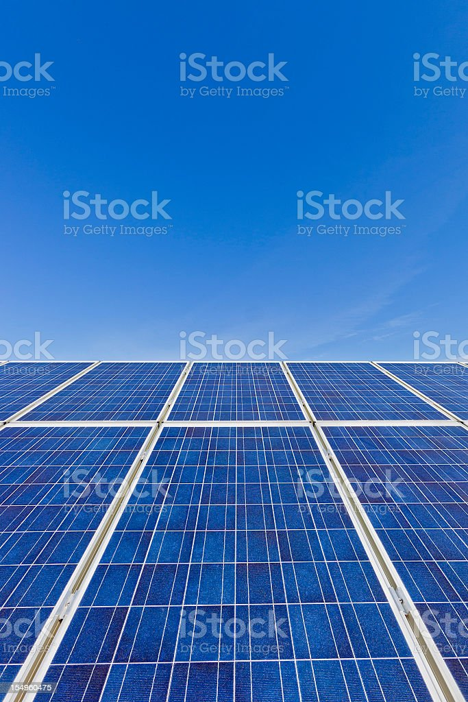 Photovoltaic Panels royalty-free stock photo
