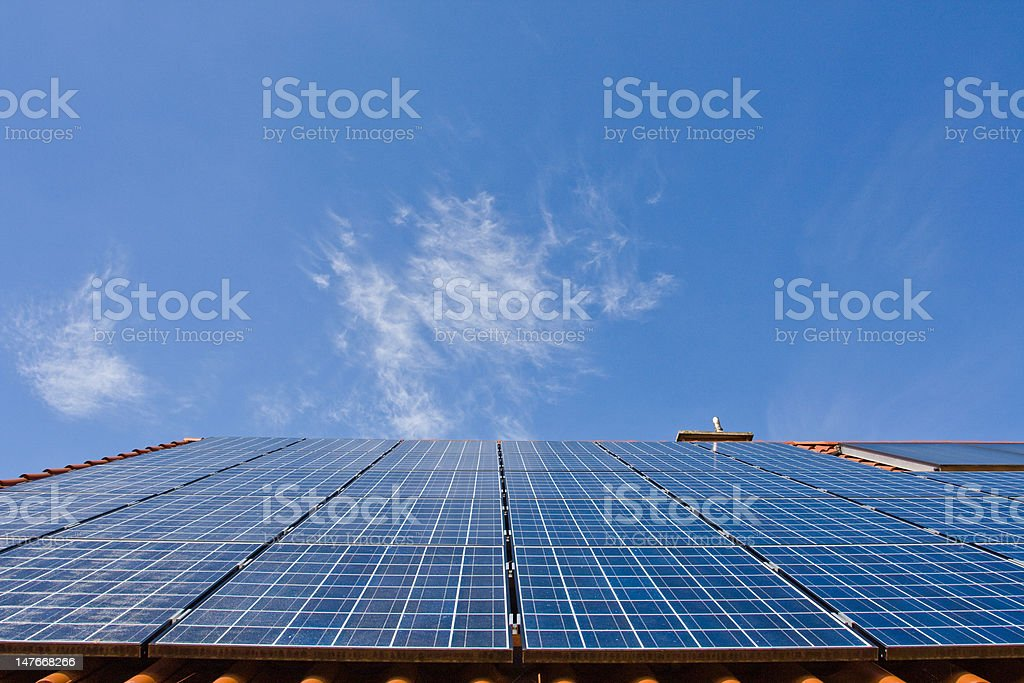 Photovoltaic stock photo