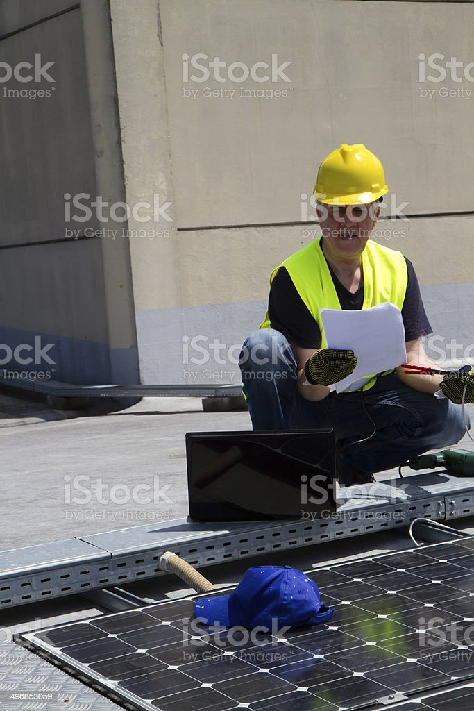 photovoltaic royalty-free stock photo