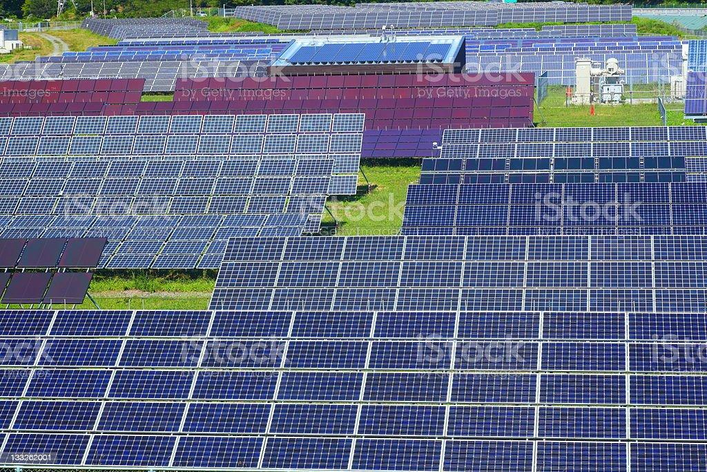 Photovoltaic power plant royalty-free stock photo