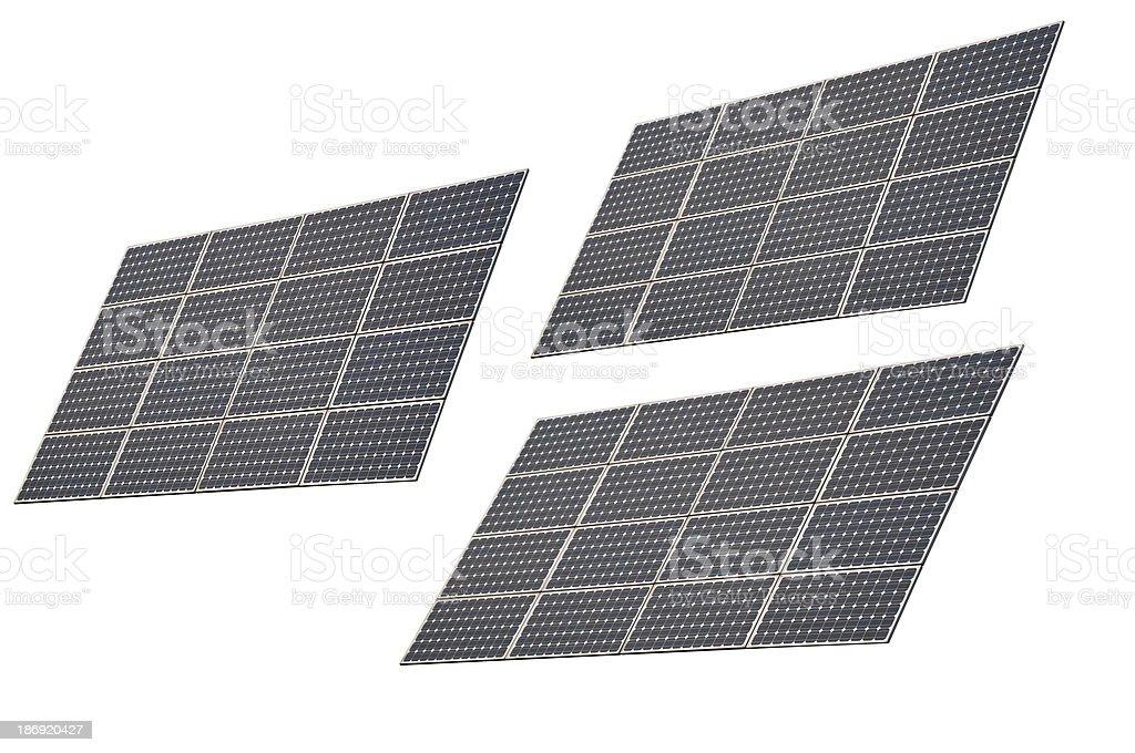 Photovoltaic solar energy stock photo