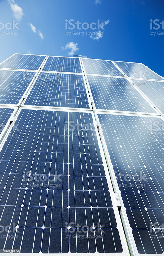 Photovoltaic Solar Panel royalty-free stock photo