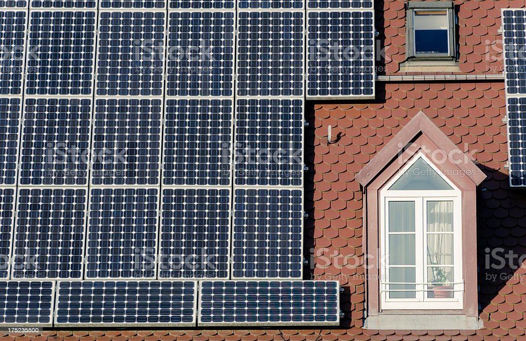 photovoltaic system royalty-free stock photo