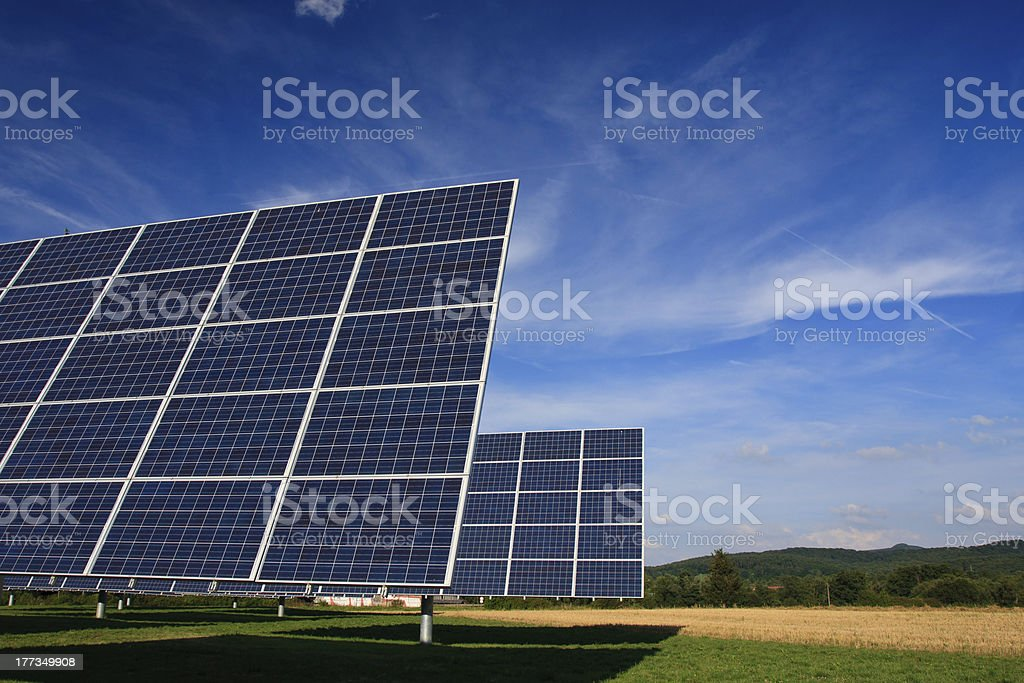 photovoltaics stock photo
