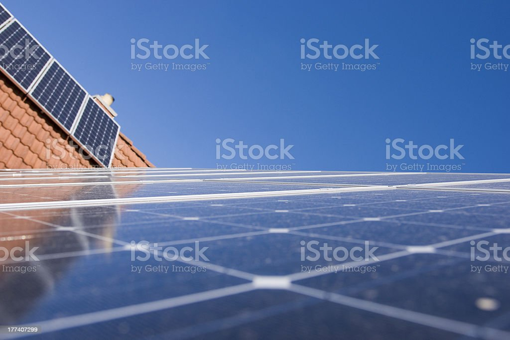 Photovoltaics plant stock photo