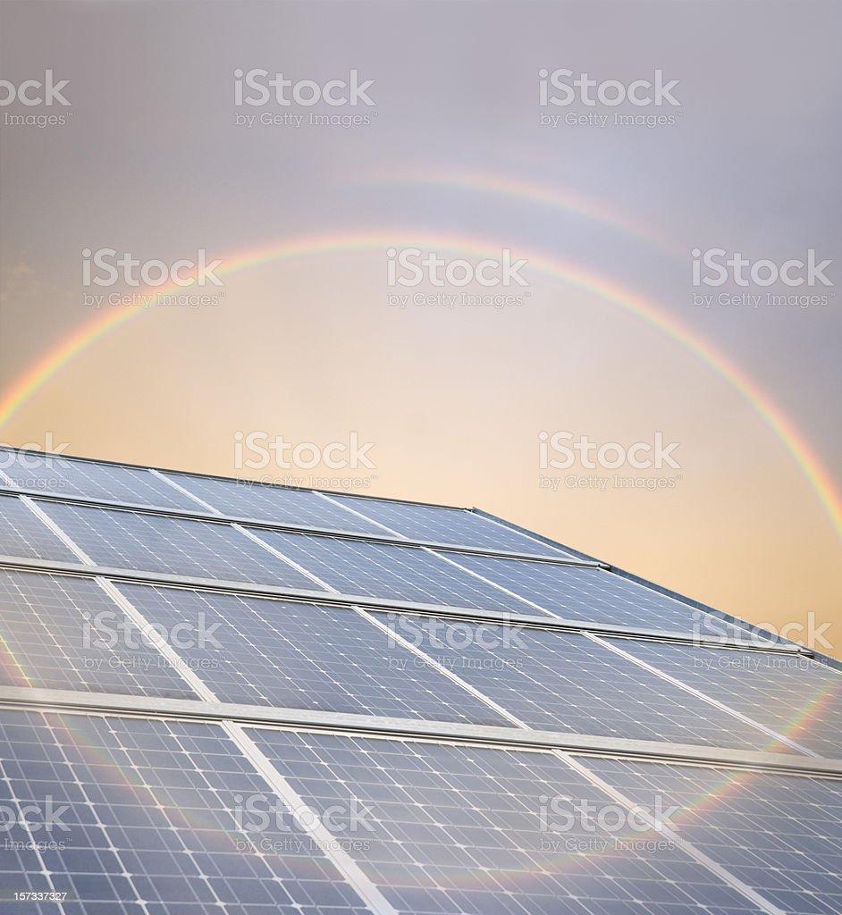 Photovoltaik   (image size XXL) stock photo