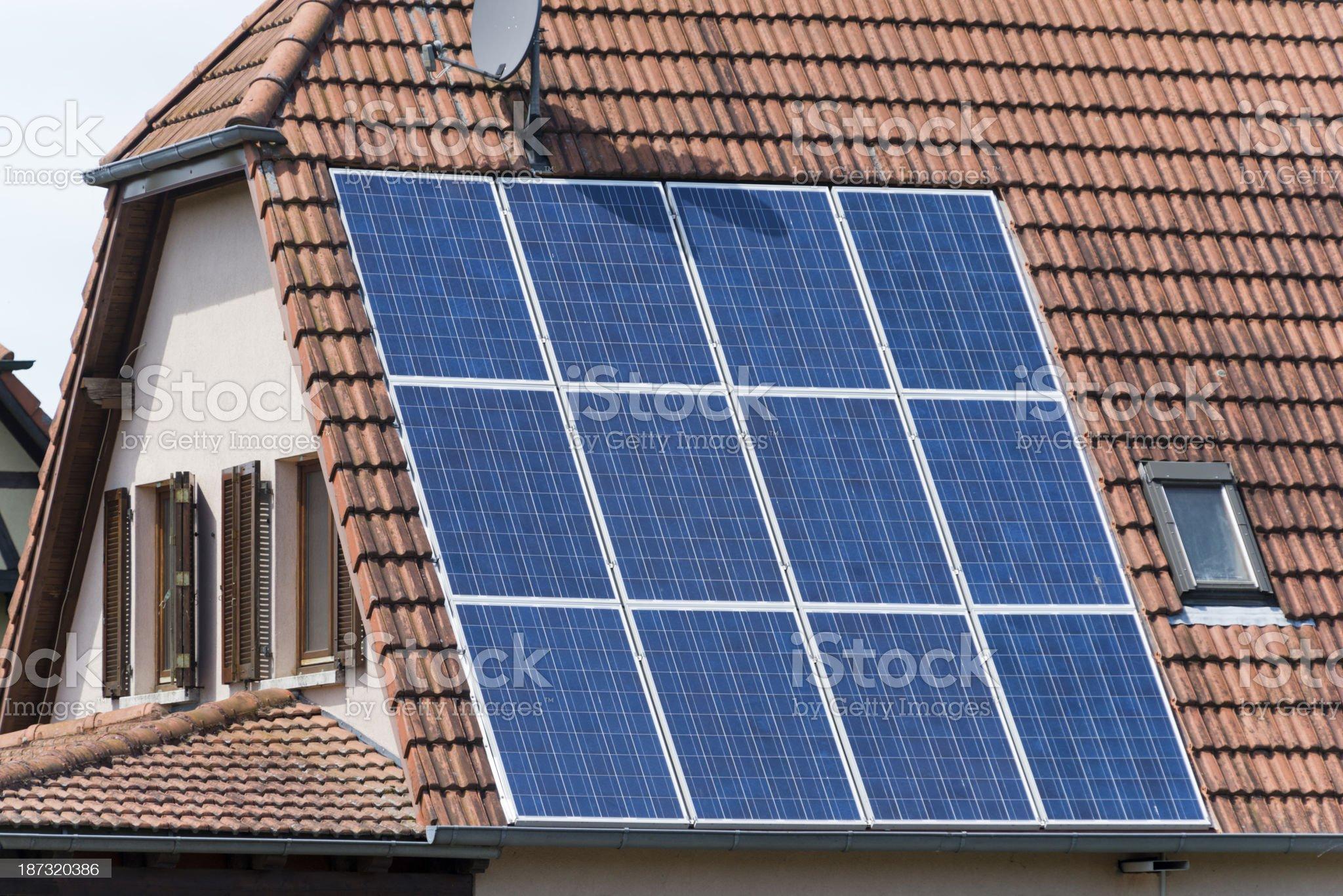 Photovoltaik royalty-free stock photo