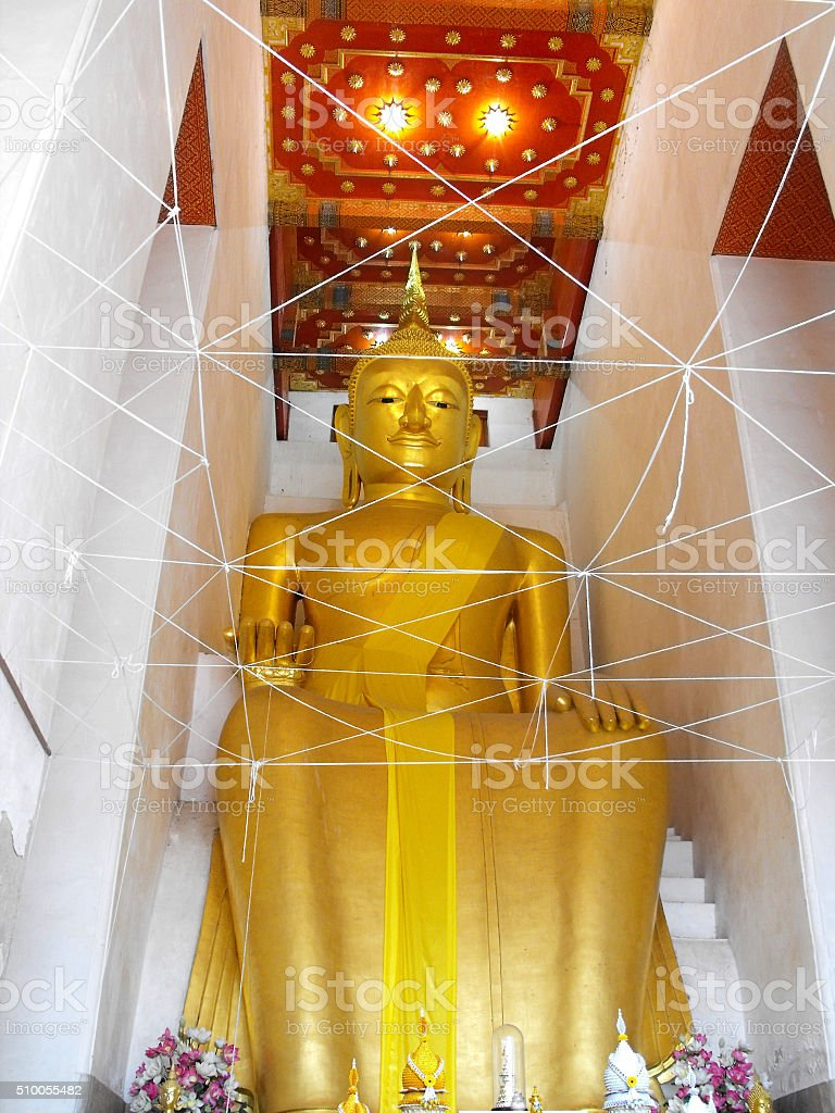 phra luang por toh buddha stock photo