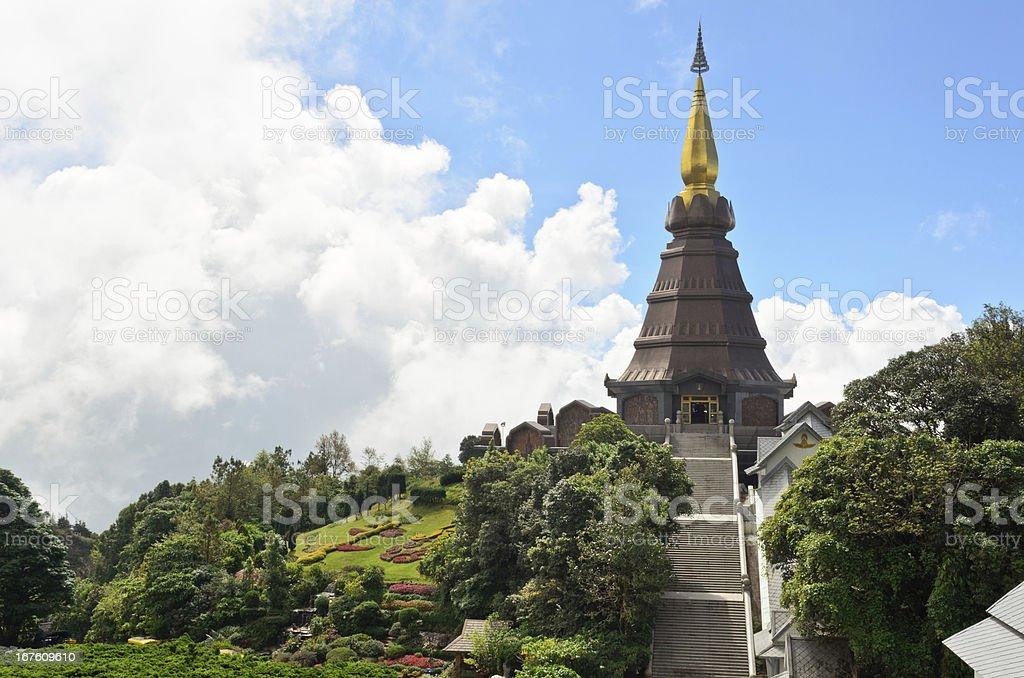 Phra Mahathat Napametanidon temple. royalty-free stock photo