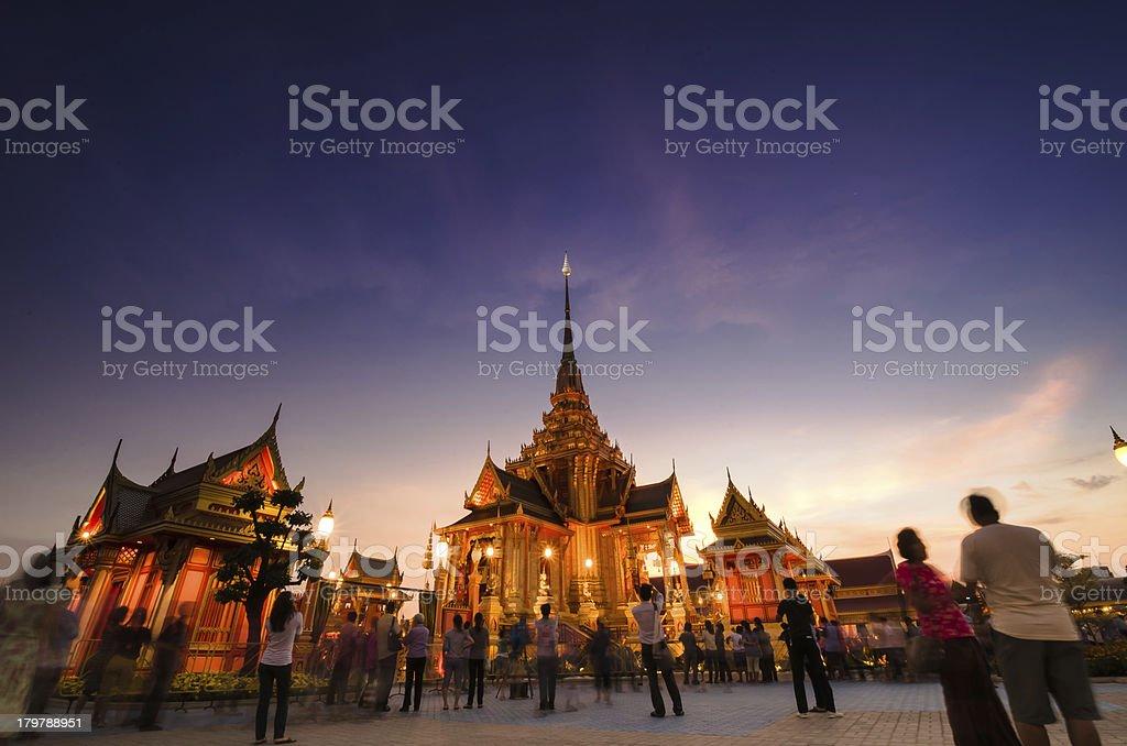 Phra Meru, Thai Royal Crematorium, Bangkok, Thailand. royalty-free stock photo