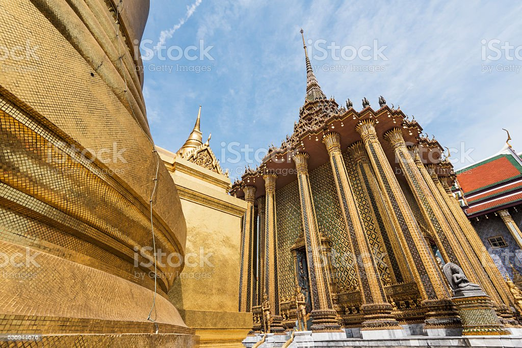 Phra Mondop from a Distance stock photo