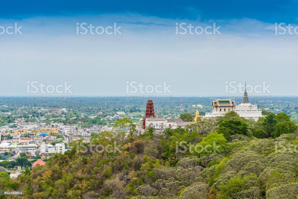 Phra Nakhon Khiri Historical Park (Khao Wang) stock photo