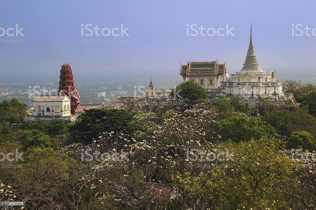 Phra Nakhon Khiri Palace compound royalty-free stock photo
