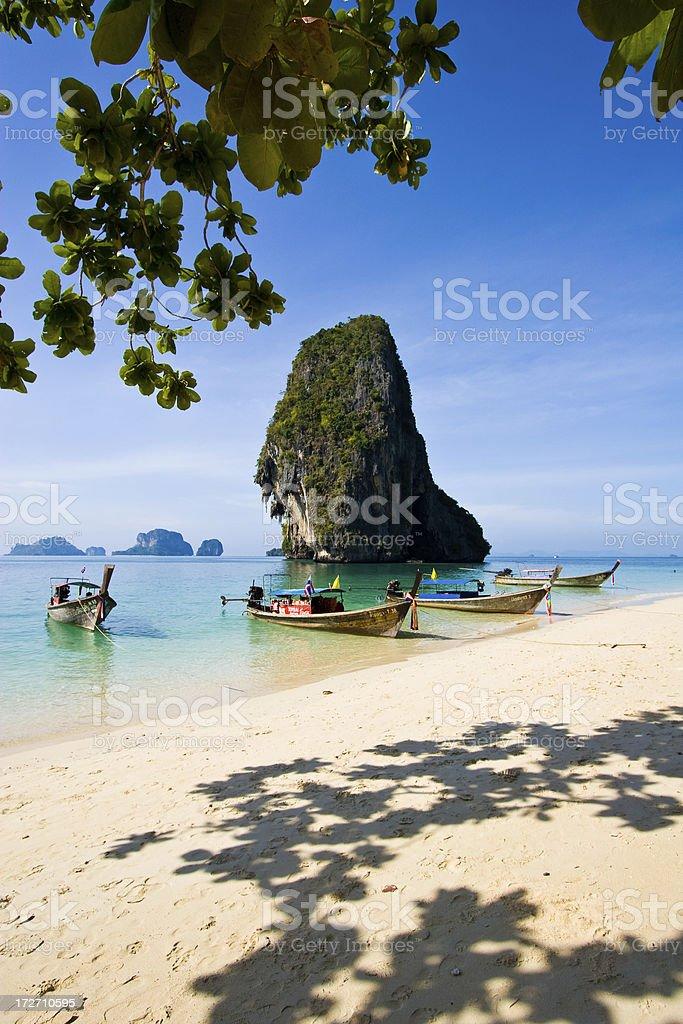Phra Nang beach royalty-free stock photo