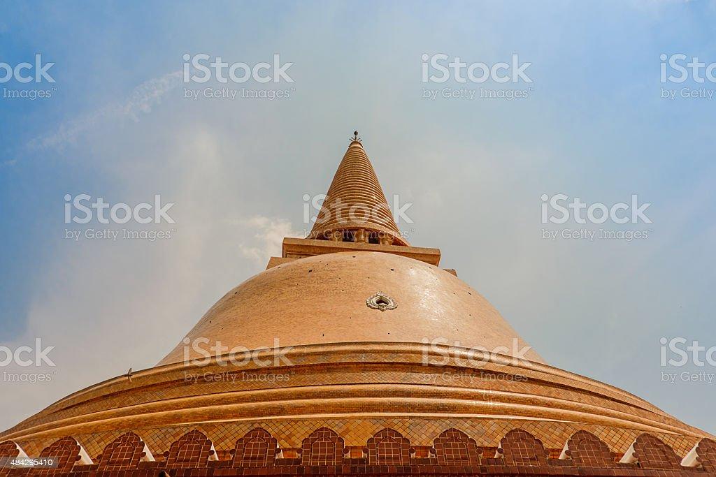 Phra Pathom Chedi at Nakhon Pathom, Thailand. stock photo