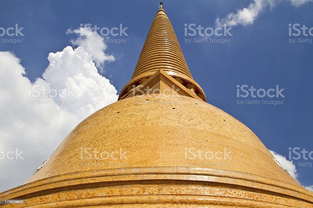 Phra Pathom Chedi, Thailand stock photo