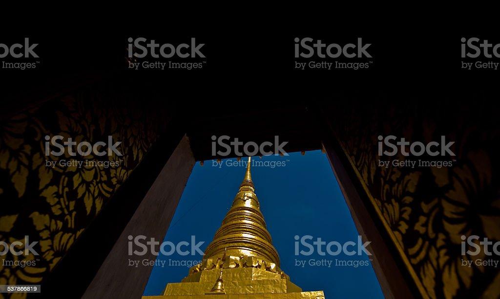 Phra That Chae Haeng, Prowincja Nan, Tajlandia zbiór zdjęć royalty-free