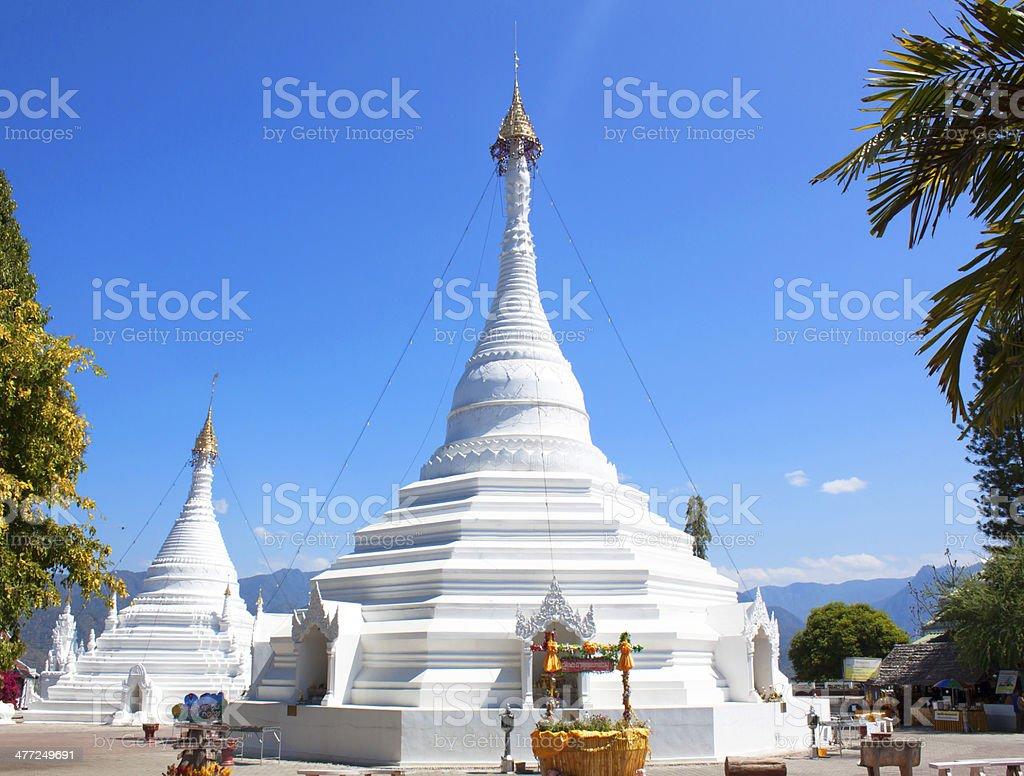 Phra That Doi Kong Mu stock photo