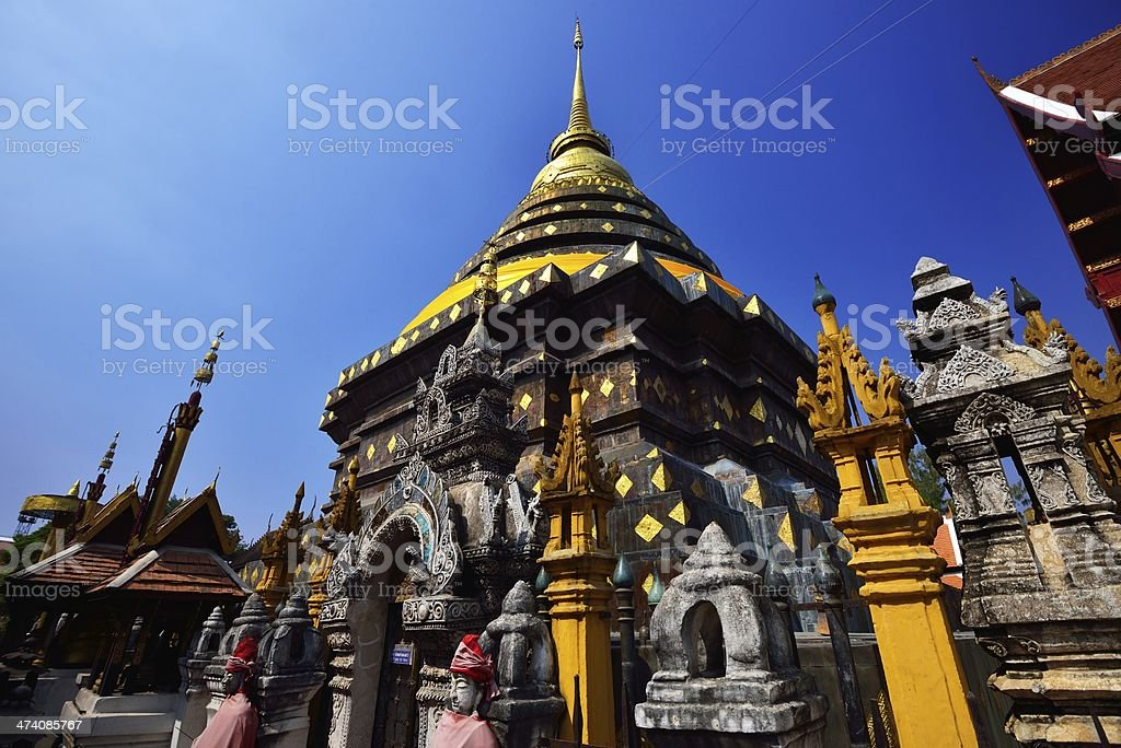 Phra That Lampang Luang Temple royalty-free stock photo