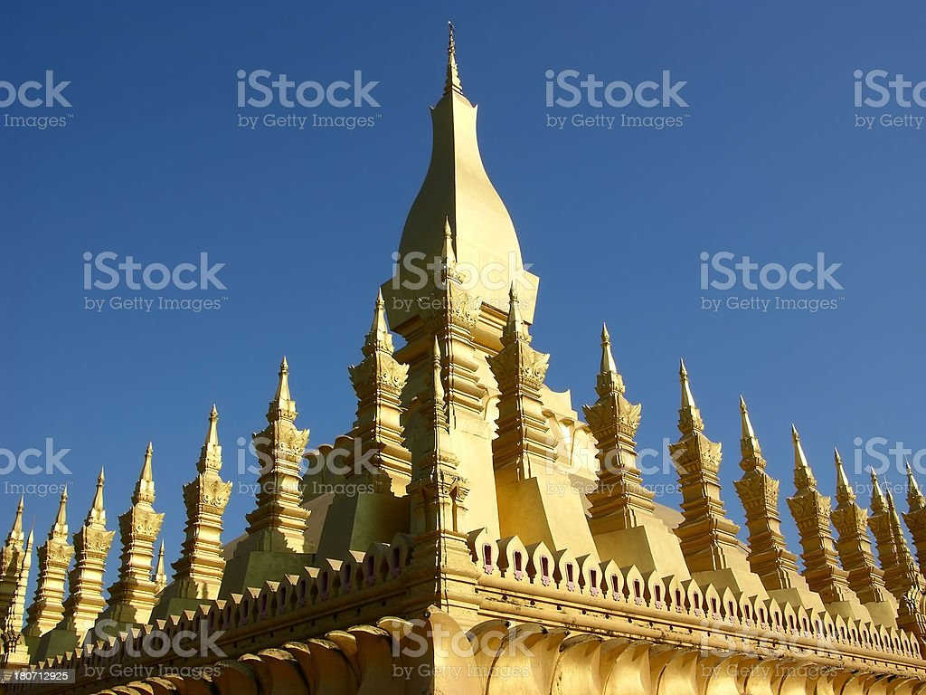 Phra That Luang royalty-free stock photo