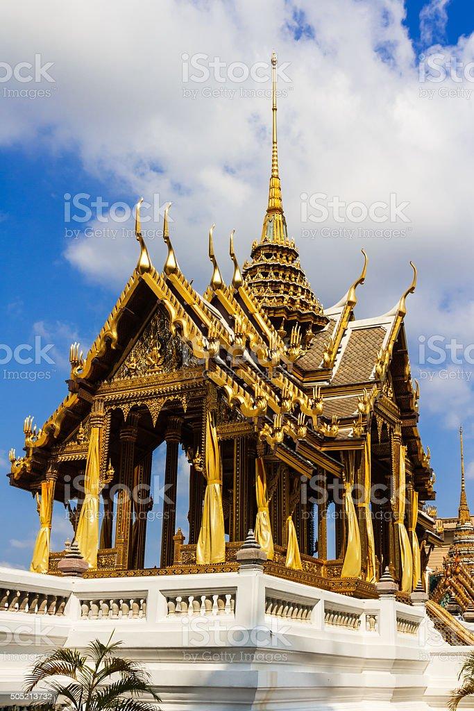 Phra Thinang Aphorn Phimok Prasat of the Grand Palace stock photo