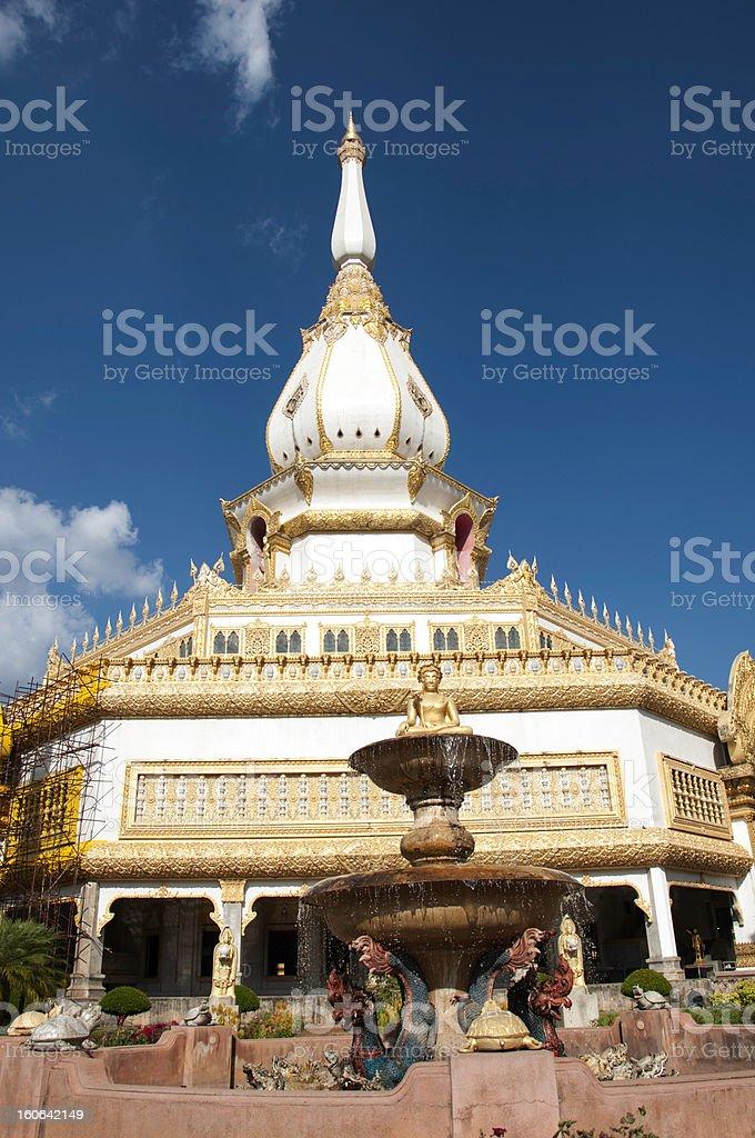 Phramahajedi Chaiyamongkol at Roi Et of Thailand royalty-free stock photo