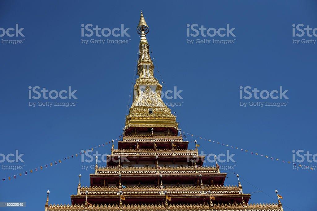 Phra-Mahathat-Kaen-Nakhon zbiór zdjęć royalty-free
