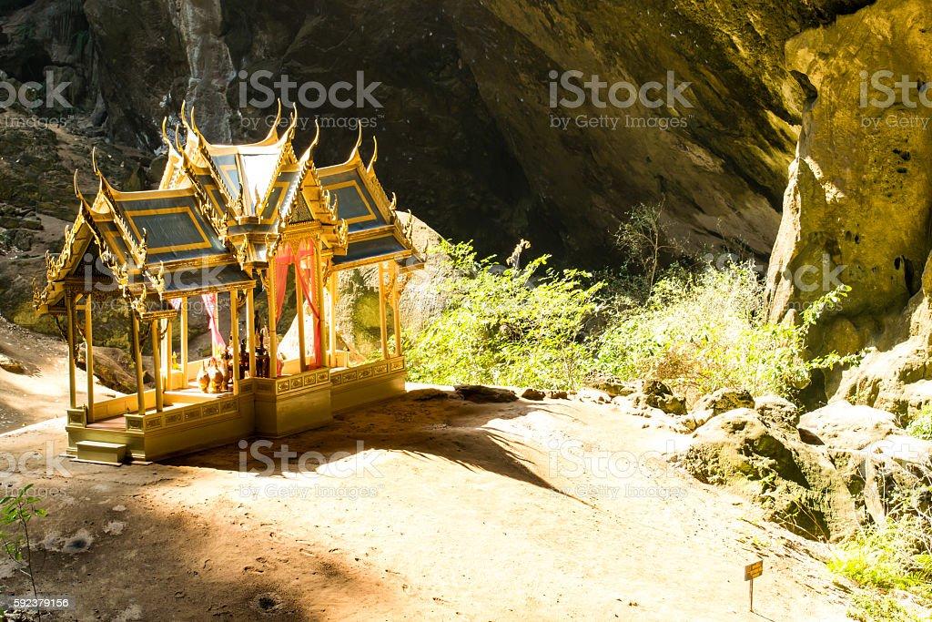 Phraya Nakhon Cave, Khao Sam Roi Yot stock photo
