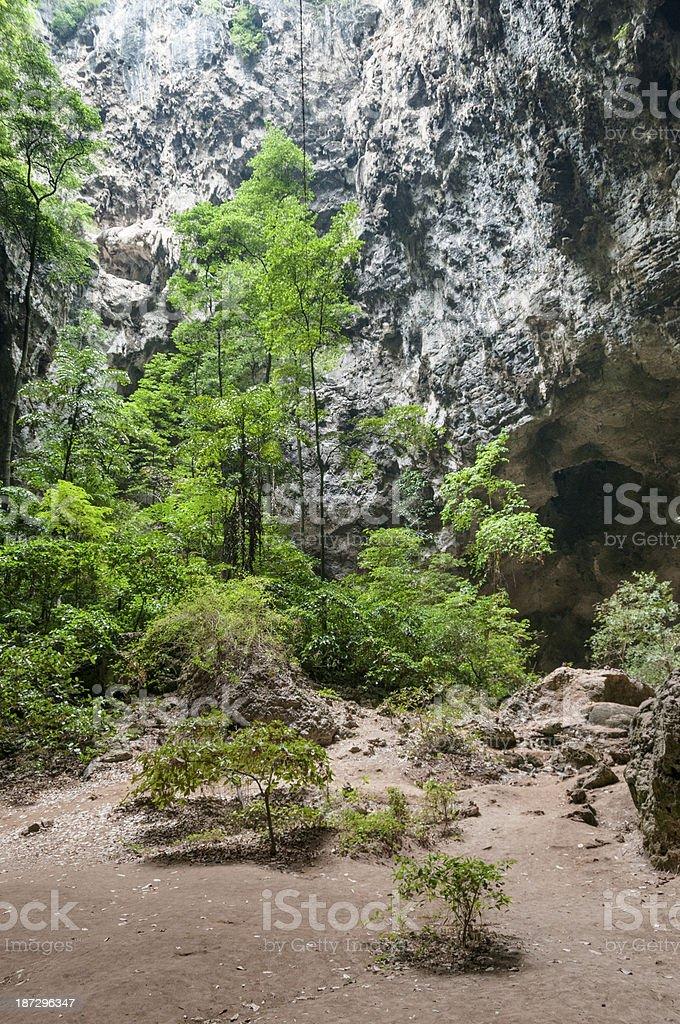 Phraya Nakhon Cave, Thailand stock photo