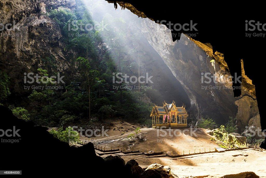 Phraya Nakorn cave. stock photo
