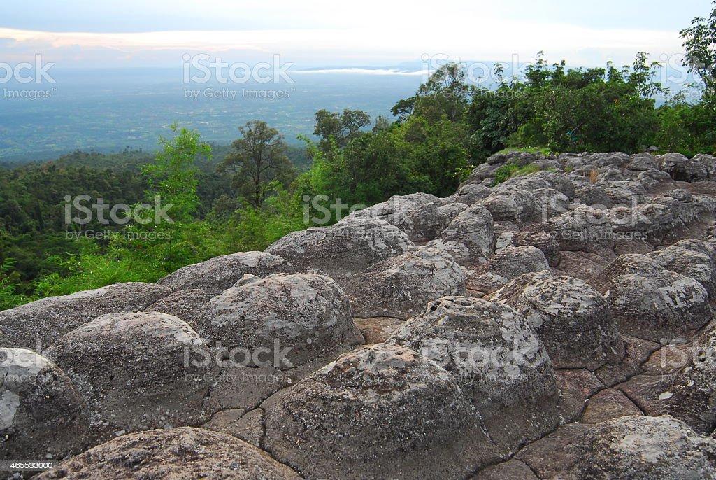 Park Narodowy Phuhinrongkla zbiór zdjęć royalty-free